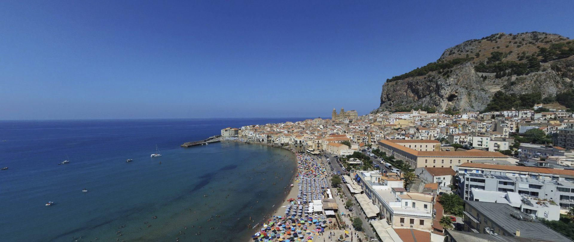 Cefalù sicilia maps 360